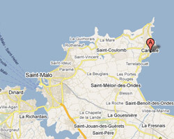 carte littoral cancale
