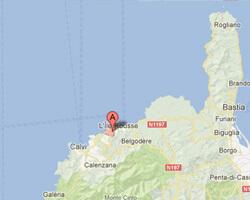 seaside map Corbara