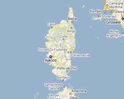 image map Corsica