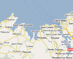 carte littoral cote_d_emeraude