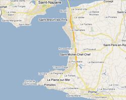 seaside map Jade coast