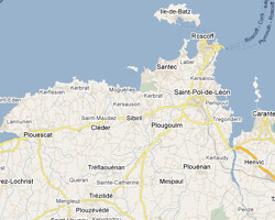 carte littoral cote_du_leon