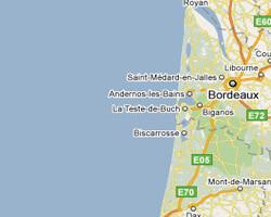 carte littoral cote_landaise