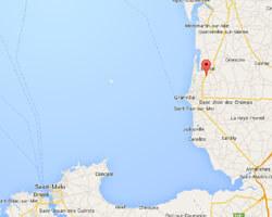 carte littoral coudeville_sur_mer