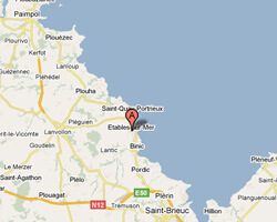 seaside map Etables-sur-Mer