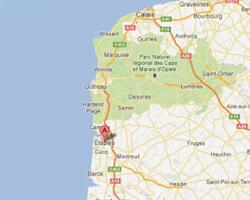 seaside map Etaples-sur-Mer