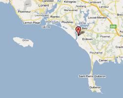 seaside map Etel