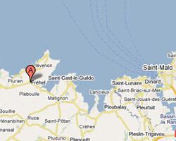 carte littoral frehel