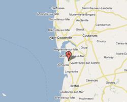carte littoral hauteville_sur_mer