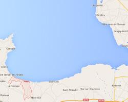 carte littoral hirel