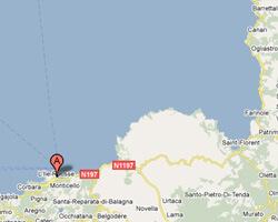image map L'Ile-Rousse