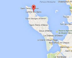 carte littoral la_bree_les_bains