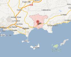 image map la_londe_les_maures