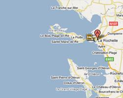 carte littoral la_rochelle