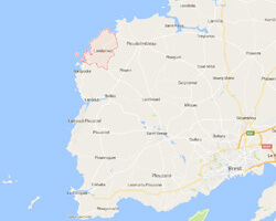 seaside map Landunvez