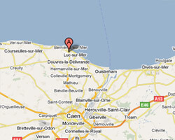 carte littoral langrune_sur_mer