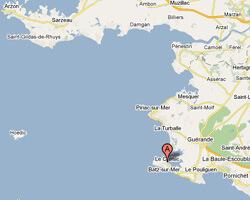 carte littoral le_croisic