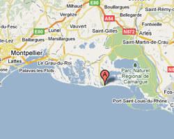 carte littoral les_saintes_maries_de_la_mer
