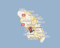 seaside map Trois-Ilets