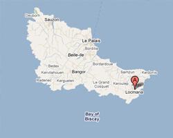 carte littoral locmaria