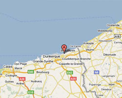 kuste am meer Malo-les-Bains, Dunkerque
