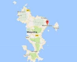 carte littoral Mamoudzou