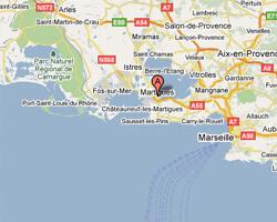 carte littoral martigues