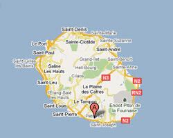 carte littoral Petite-Ile