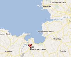 image map Plestin-les-grèves