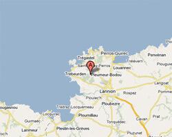 carte littoral pleumeur_bodou