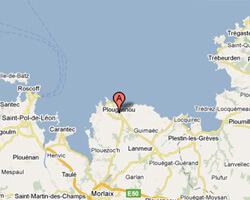 image map plougasnou