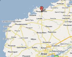 image map plouguerneau