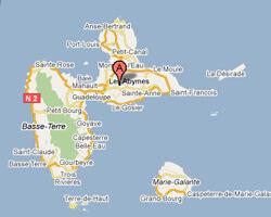 image map Pointe-à-Pitre