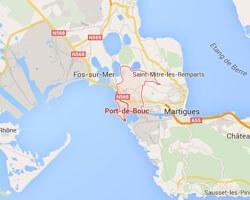 carte littoral Port-de-Bouc