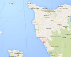 carte littoral Portbail