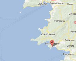 carte littoral Porto-Pollo