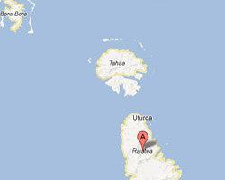 seaside map Raiatea
