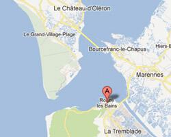 carte littoral Ronce-les-Bains