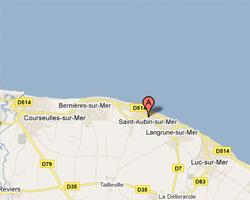 kuste am meer Saint-Aubin-sur-Mer(14)