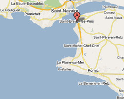 seaside map saint_brevin_les_pins