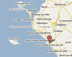 kuste am meer Saint-Gilles-Croix-de-Vie