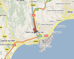 carte littoral saint_laurent_du_var