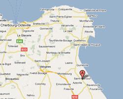 seaside map Saint-Marcouf-de-l'Isle