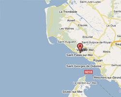carte littoral Saint-Palais-sur-Mer
