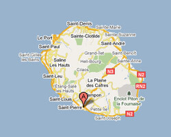 carte littoral Saint-Pierre