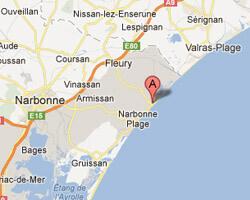 seaside map Saint-Pierre-la-Mer