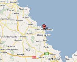 carte littoral Saint-Quay-Portrieux