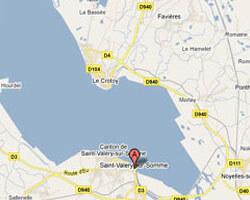 seaside map Saint-Valery-sur-Somme