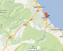 seaside map Saint-Anne