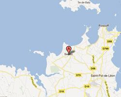 seaside map Santec